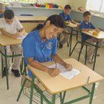 Schüler der Idene-Schule