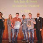 Scheckübergabe Nelly-Sachs-Integrierte Gesamtschule Worms