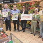 Spendenübergabe an Naturschutzgruppe Karlstein