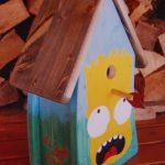 Vogelhaus-Challenge - Simpsons-Vogelhaus