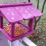 Vogelhaus-Challenge - Pinkes Vogelhaus