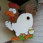 Vogelhaus-Challenge - Huhn-mit-Ei-Vogelhaus