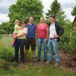 Die Familie des Hofglück-Schweinehof