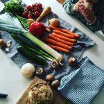 Tolle Gemüseauswahl zum Kochen mit Kindern