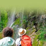 Der Uracher Wasserfall auf der Schwäbischen Alb