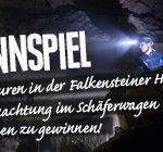 Gewinnspiel Falkensteinerhöhle