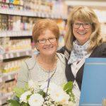 Für 40 Jahre Betriebszugehörigkeit wurde Margret Waldecker geehrt