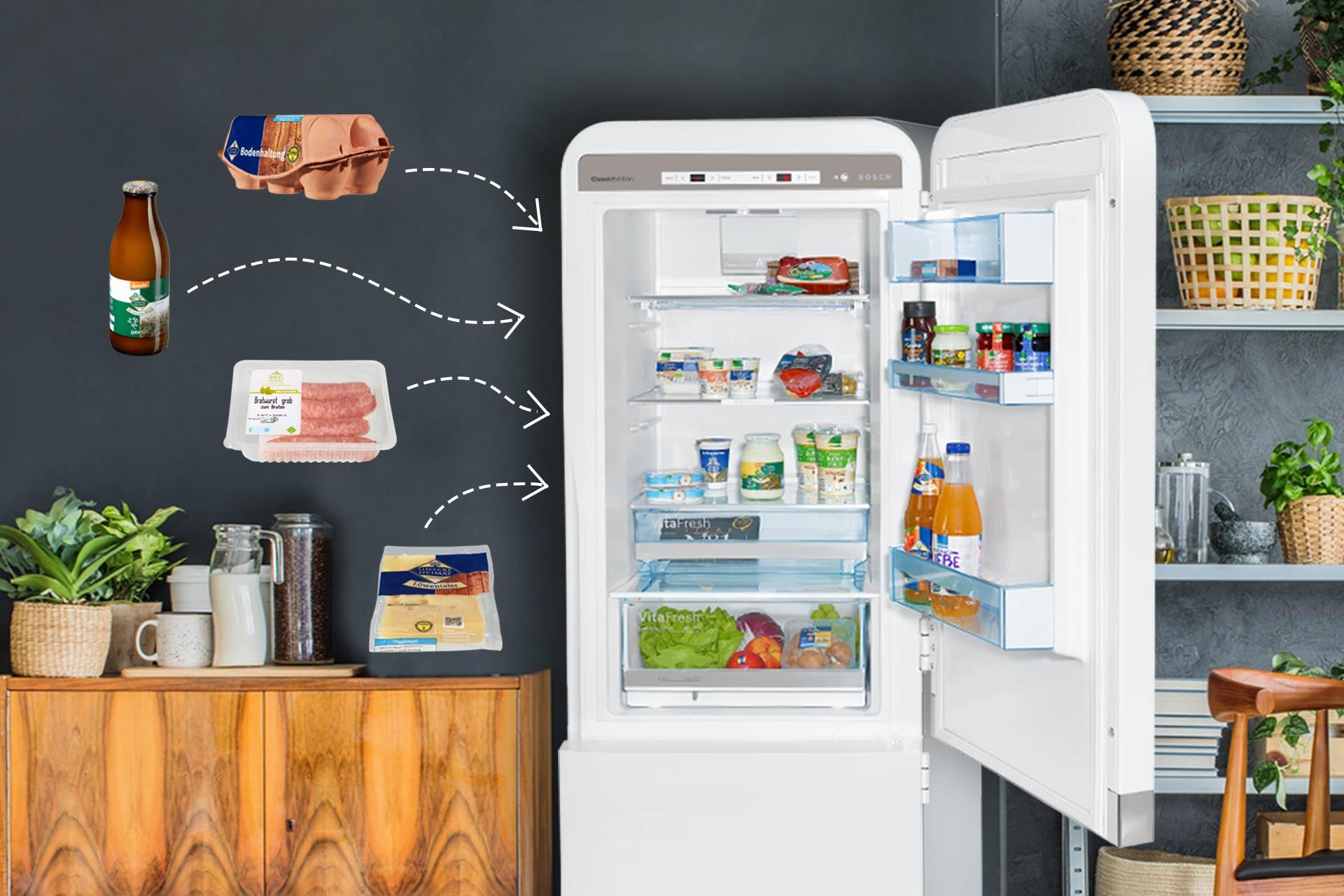 Outdoorküche Mit Kühlschrank Lagern : Cooles kühlschrank spiel lebensmittel sinnvoll einräumen