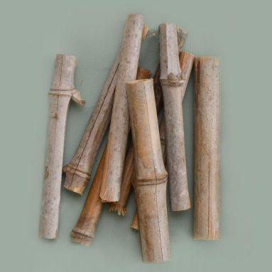 Bambus-Abschnitte
