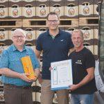 Für 40 Jahre Betriebszugehörigkeit erhielt Bernd Cech eine Ehrung
