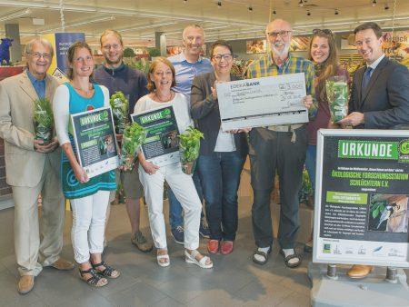 Für ihr Projekt wurde die Ökologische Forschungsstation Schlüchtern e. V. mit 3.000 Euro ausgezeichnet