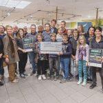 Gemeinsam mit EDEKA Südwest weiht die Gemeinschaftsschule Stettenfels ihren neuen Lehrgarten ein
