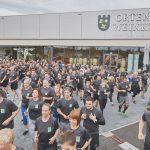 Die Mitarbeiter von EDEKA Südwest sammelten 1.900 Euro bei ihrem Spendenlauf