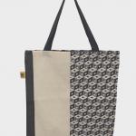 Die neue Manomama-Tasche hat ein grafisches Muster