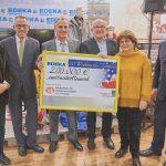 200.000 Euro aus der Weihnachtstombola 2018 kommen krebskranken Kindern zugute