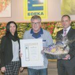 Im E Center in Trier wurde Guenther Hahn für seine 40-jährige Betriebszugehörigkeit geehrt