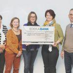 Mit 2.500 Euro wird der Hospizdienst Achern-Achertal von der EDEKA Südwest Mitarbeiter-Initiative unterstützt