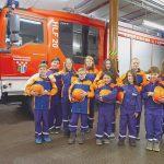 Die Kids der Nohfeldener Jugendfeuerwehr