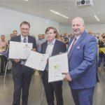 EDEKA Südwest ehrt Mitarbeiter für 50-jährige Betriebszugehörigkeit.