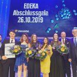Den Höhepunkt des Abends stellte die Verleihung des Edeka-Ausbildungscups an fünf Absolventen mit herausragenden Leistungen dar.