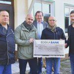 Scheckübergabe an die Lebenshilfe Kreisvereinigung Saarlouis e. V.