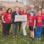 Spendenscheckübergabe an den Special Olympics Rheinland-Pfalz e.V.